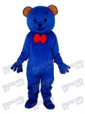 Blue Teddy Bear Mascot Adult Costume Animal