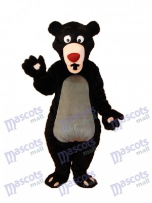 Black Bear Mascot Adult Costume Animal