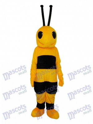 Black and Yellow Ant Mascot Adult Costume Insect