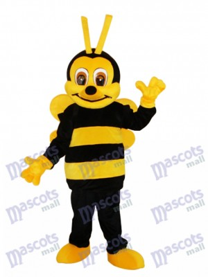 Little Bee Mascot Adult Costume Insect