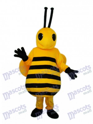 Small Yellow Bee Mascot Adult Costume Insect