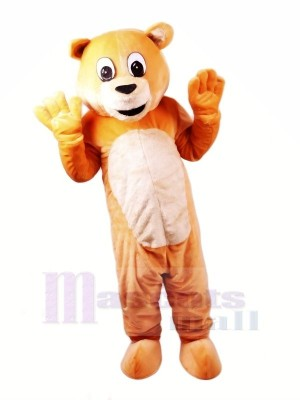 Honey Bear Mascot Costumes Cartoon