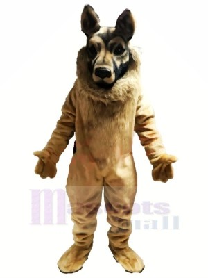 German Shepherd Dog Mascot Costumes Animal