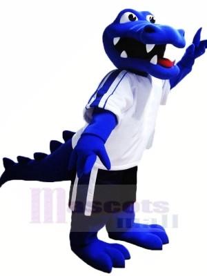 Blue Alligator Mascot Costumes Animal