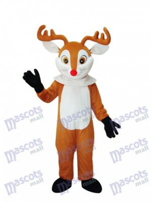 Golden Sika Deer Mascot Adult Costume Animal