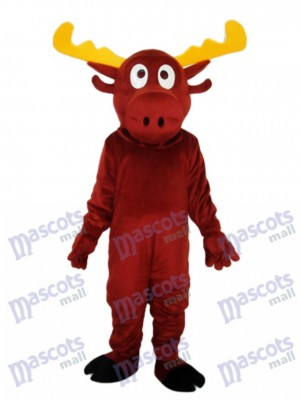 Reindeer Mascot Adult Costume Animal