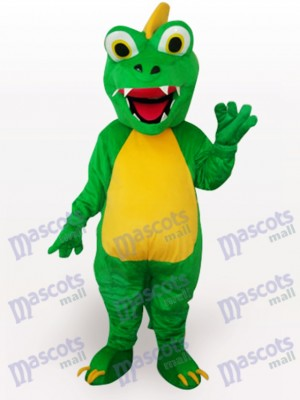 Green Dinosaur Animal Adult Mascot Funny Costume