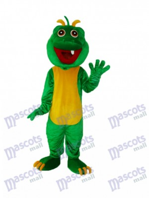 One Tooth Dinosaur Mascot Adult Costume Animal