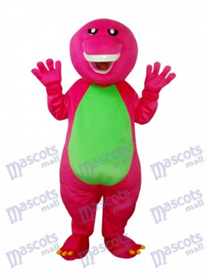 Barney Dinosaur Mascot Adult Costume Animal