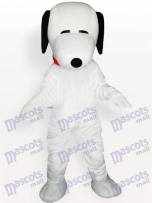 Snoopy Dog with Red Collar Adult Mascot Costume