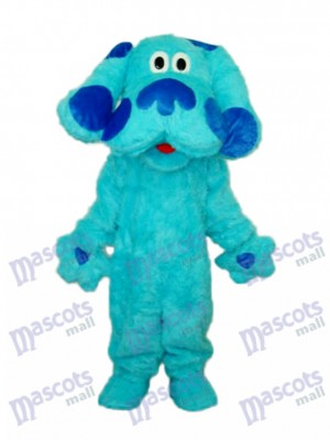 Blue Dog Blues Clues Mascot Adult Costume Animal