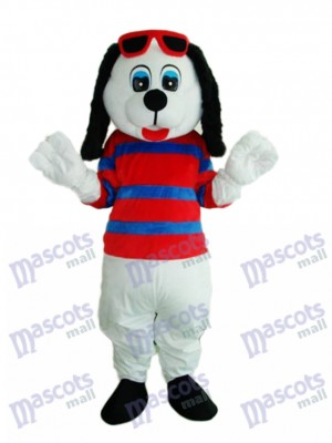 Happy Dog Mascot Adult Costume Animal