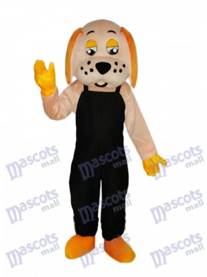 Lucky Dog Mascot Adult Costume Animal