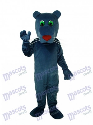 Black Mouth Dog Mascot Adult Costume Animal
