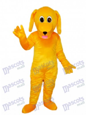 Yellow Dog Mascot Adult Costume Animal
