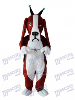 Revised Basset Dog Mascot Adult Costume Animal