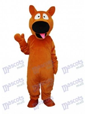 Brown Dog Mascot Adult Costume Animal