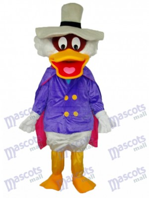 Donald Duck with Pot Hat Mascot Adult Costume Cartoon Anime