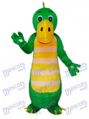 Green Chinese Dragon Mascot Adult Costume Animal