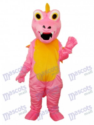 Pink Long Thorn Dragon Mascot Adult Costume Animal