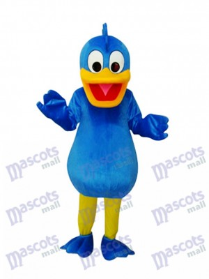 Blue Duck Mascot Adult Costume Animal