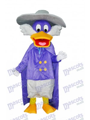 Naughty Purple Duck Adult Mascot Costume Animal