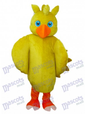 Yellow Chick Mascot Adult Costume Animal