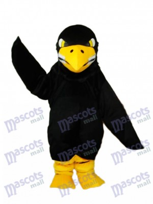 Black Eagle Mascot Adult Costume Animal