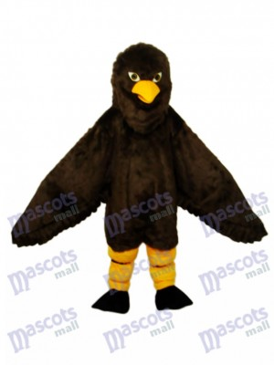 Long-haired Brown Eagle Mascot Adult Costume Animal