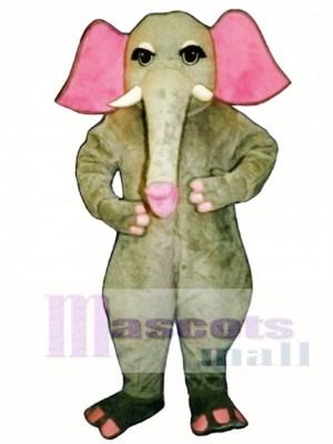 Girl Elephant Mascot Costume Animal