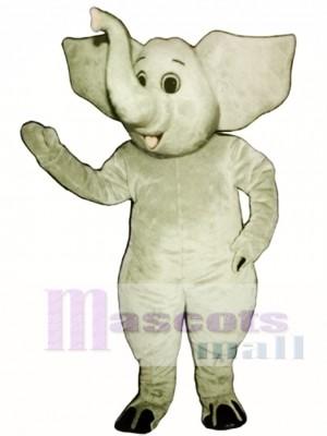 Cute Eddy Eddie Elephant Mascot Costume Animal