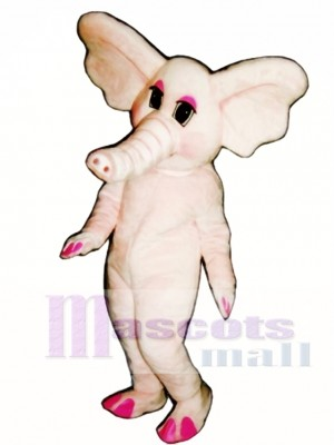 Elphie Elephant Mascot Costume Animal