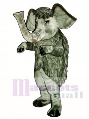 Wooly Mammoth Elephant Mascot Costume Animal