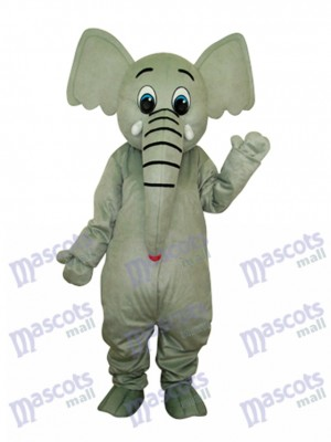 Little Grey Elephant Mascot Adult Costume Animal