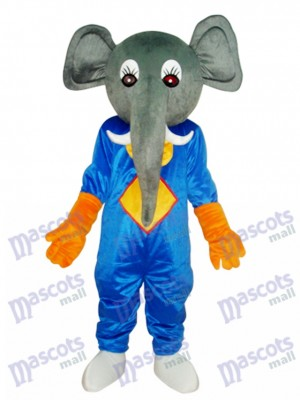 Elephant Mascot Adult Costume Animal