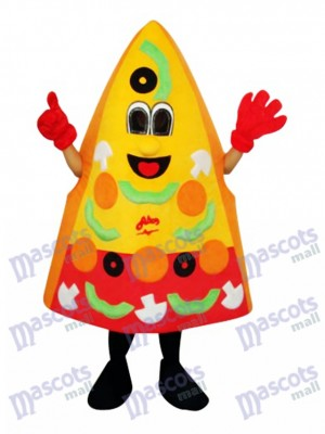 Pizza Mascot Adult Costume Food
