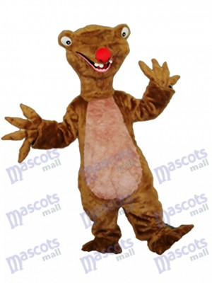 Sloth Mascot Adult Costume Animal