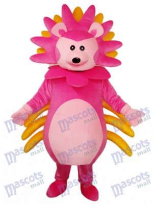 Pink Hedgehog Mascot Adult Costume Animal