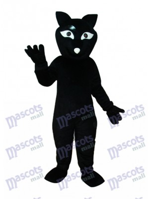 Black Fox Mascot Adult Costume Animal