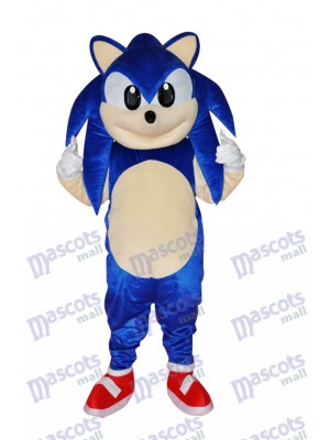 Blue Strange Fox Adult Mascot Costumes Animal