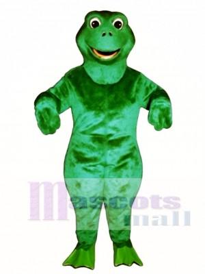 Fritz Frog Mascot Costume Animal