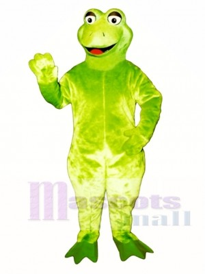 Leaping Frog Mascot Costume Animal