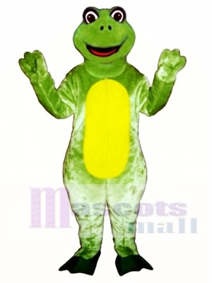 Happy Frog Mascot Costume Animal