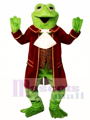 Colonial Frog Mascot Costume Animal