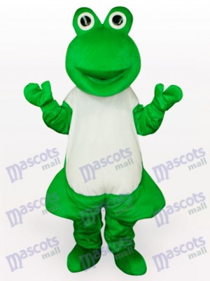 Green Frog Adult Mascot Funny Costume