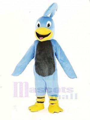 Blue Roadrunner Bird Mascot Costume College