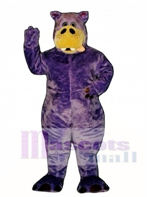 Cute Herbie Hippopotamus Mascot Costume Animal