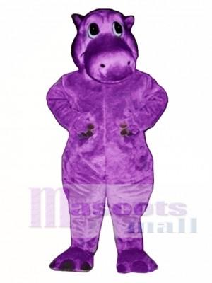 Cute Hairy Potamus Hippo Mascot Costume Animal
