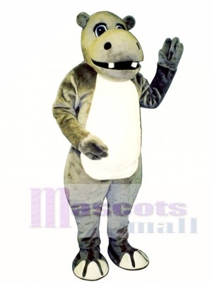 Hyrum Hippo Mascot Costume