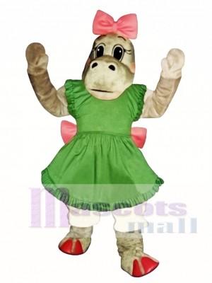 Patty Potamus Hippo Mascot Costume